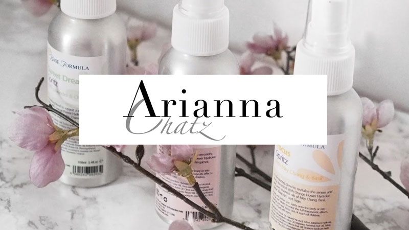 Aromatherapy Spritzes for work, rest and play - Arianna Chatz - March 2016