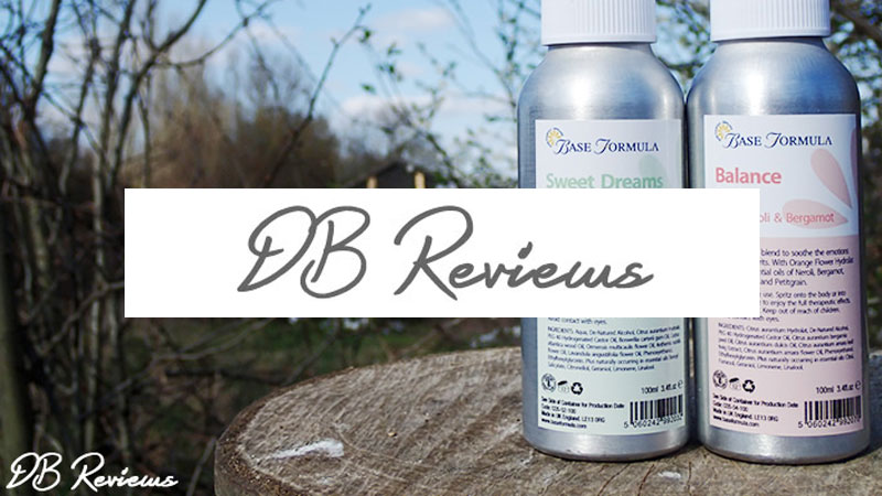 Aromatherapy Spritzes - DB Reviews - March 2016