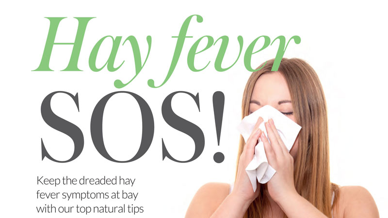 Hayfever SOS - Your Healthy Living - April 2016