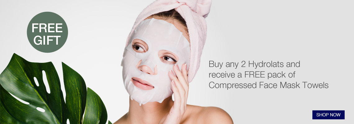 Free Face Mask Towels