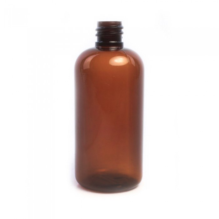 100ml Amber Melton Plastic Bottle  (Caps EXCLUDED)