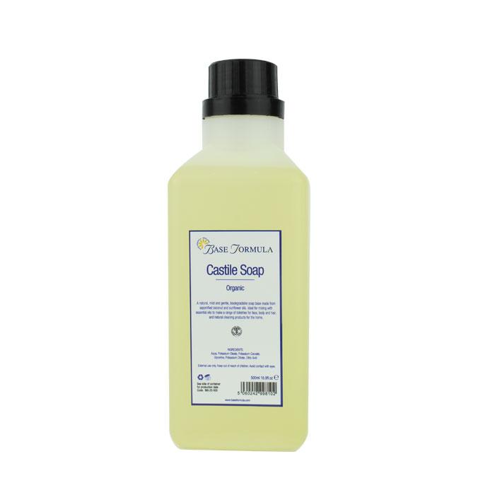 Liquid Castile Soap ORGANIC (500ml)
