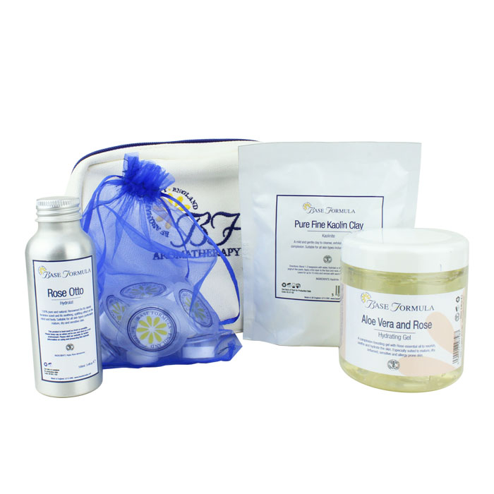 Rose Face Mask Gift Set