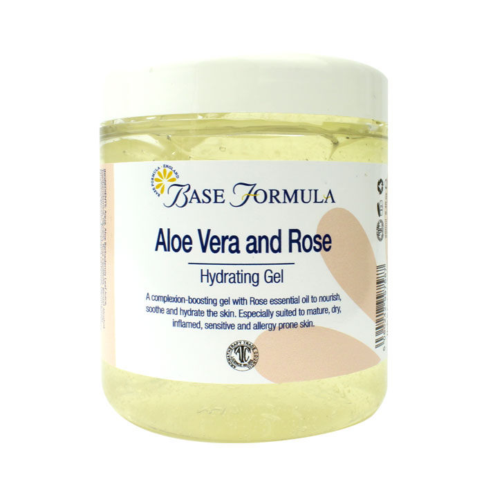 Aloe Vera & Rose Gel (250ml)