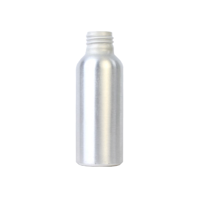 Aluminium Bottle 100ml (Caps EXCLUDED)