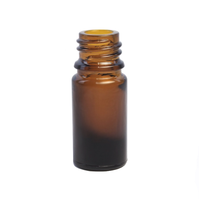 Amber Glass Dropper Bottle 5ml (Caps EXCLUDED)