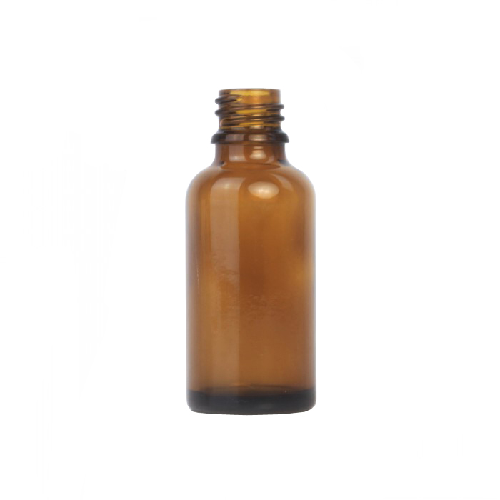 Amber Glass Dropper Bottle 30ml (Caps EXCLUDED)
