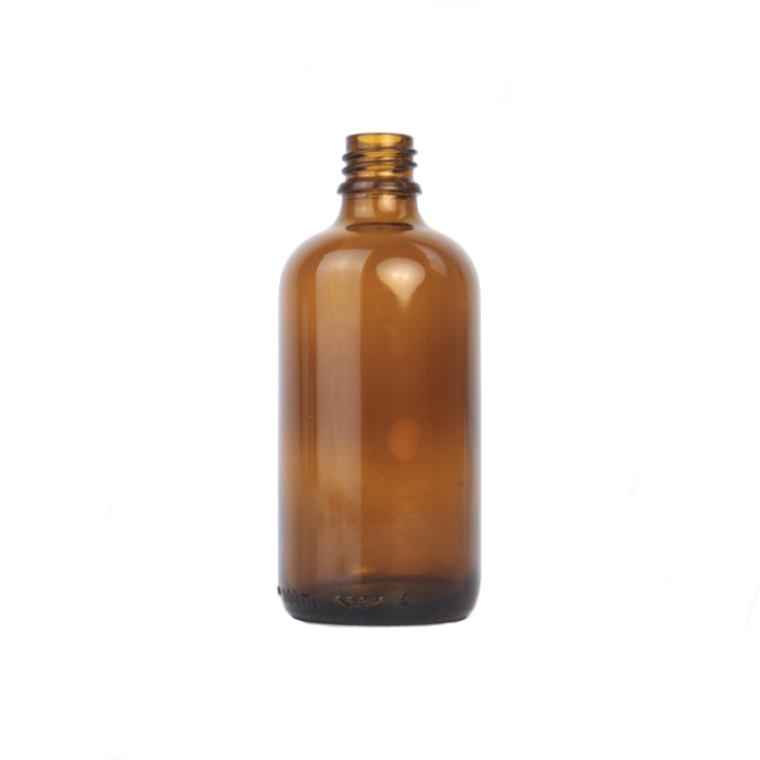 Amber Glass Dropper Bottle 50ml (Caps EXCLUDED)