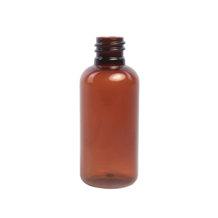 50ml Amber Melton Plastic Bottle (Caps EXCLUDED)