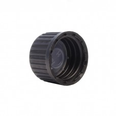 Screw Cap with Polycone Sealer (Black) for Glass Bottles (5-100ml)