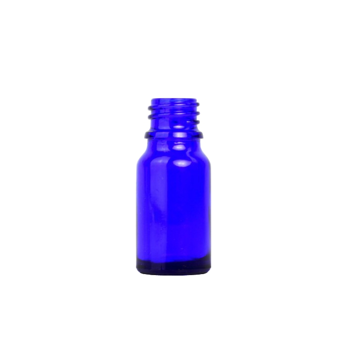 Blue Glass Dropper Bottle 5ml (Caps EXCLUDED)