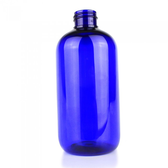 250ml Blue PET Plastic Bottle  (Pack of 50)  - CLEARANCE STOCK