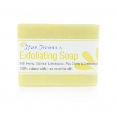 Exfoliating Soap with Honey, Lemongrass & Oatmeal (100g)
