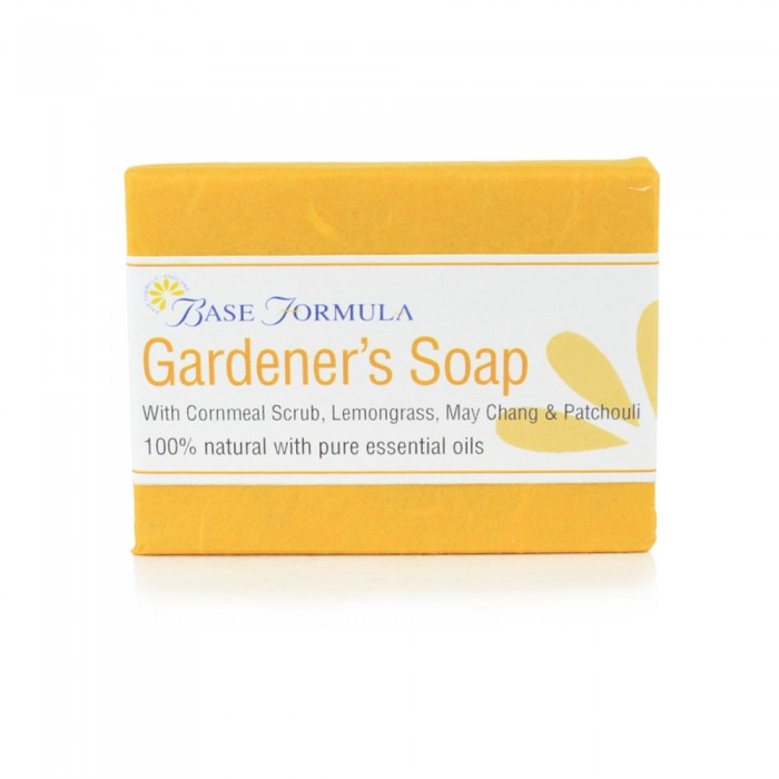 Gardener's Soap with Cornmeal & Lemongrass (100g)