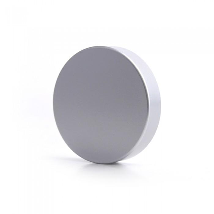 Matt Silver Cap to fit Glass Jars (60ml) - CLEARANCE