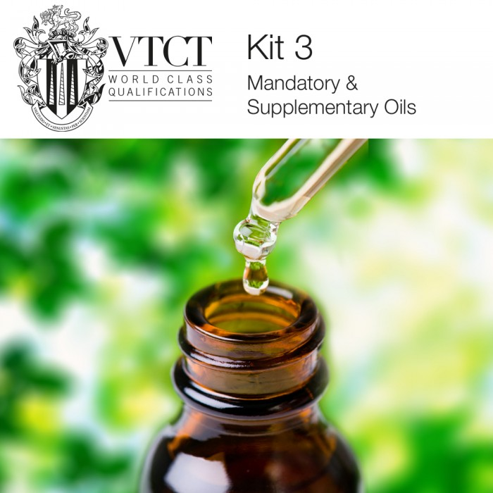 VTCT Student Aromatherapy Kit 3 - Mandatory & Supplementary Oils